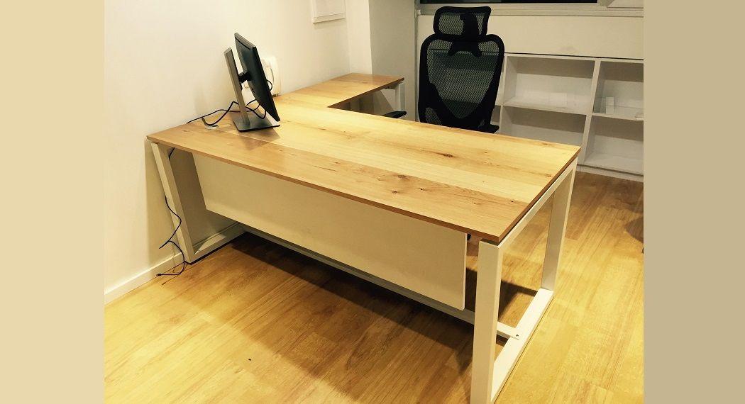 WINDOWS-פורניר </BR> שולחן מנהלים