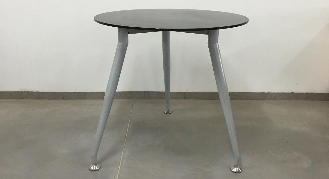 שולחן ישיבות עגול דגם גלאס