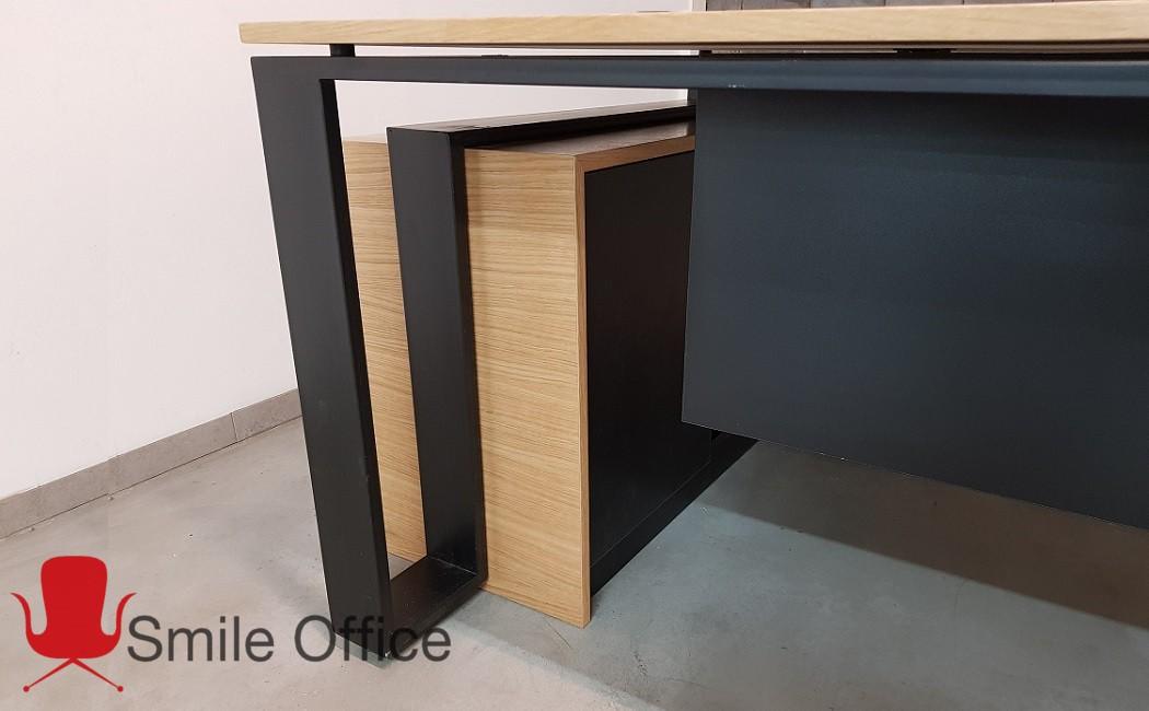 wraps-פורניר  </BR> שולחן מנהלים מודרני