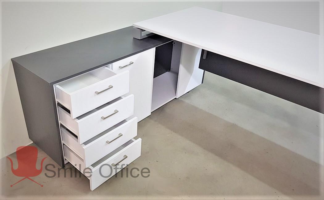 X CRZY GREY </BR> שולחן מנהלים