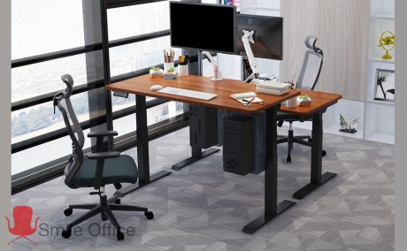 Stand Up-Black<br/> שולחן עמידה חשמלי