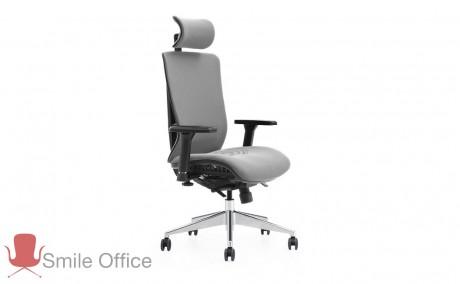TOTAL COMFORT - CLASIC אפור </br> כסא מנהלים אורטופדי