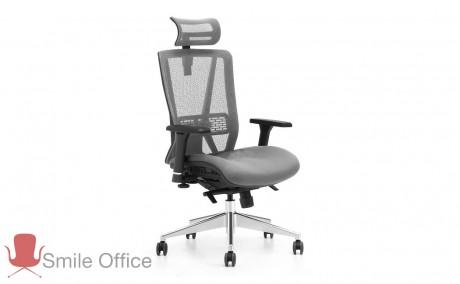 TOTAL COMFORT - NET אפור </br> כיסא מנהלים אורטופדי