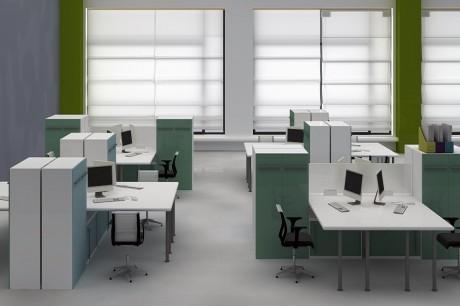 חלל עבודה משרדי